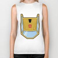 Transformers - Sunstreak… Biker Tank