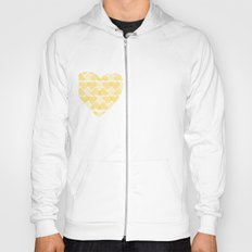 Pretty golden heart Hoody