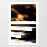 White Planes 1 Art Print