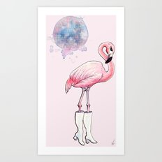 FlaminGo-Go Art Print