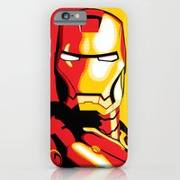 iPhone & iPod Case featuring Iron Man by C Rhodes Design