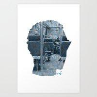 Poster Face #1 Art Print