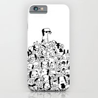 iPhone & iPod Case featuring Pupper Pile by thisisjason