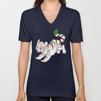 Candy Tiger Unisex V-Neck