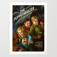 Art Print featuring The PuppetMaster by Astor Alexander