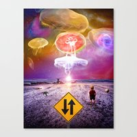 The Day of the Jellies Canvas Print