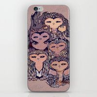 Day Owls iPhone & iPod Skin