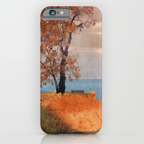 Autumn by the sea iPhone & iPod Case