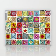 sketchy squares Laptop & iPad Skin