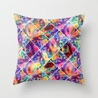 Jimi's Tile Throw Pillow