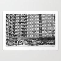 Brussels Looking Like Ea… Art Print