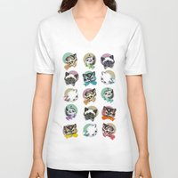 Cats & Bowties Unisex V-Neck