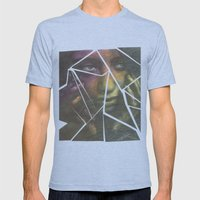 Shatter Mens Fitted Tee Athletic Blue SMALL