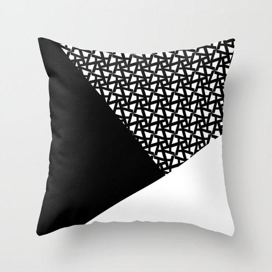 A_pattern Throw Pillow