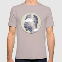 Into The Wild Mens Fitted Tee Cinder SMALL