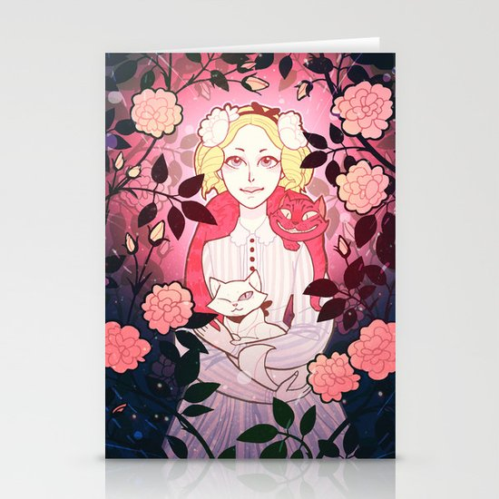 Alice Stationery Card
