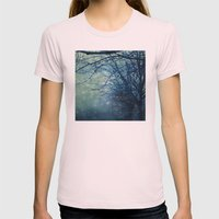 Silent Night  Womens Fitted Tee Light Pink SMALL