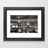 House Of Elements - Blac… Framed Art Print