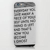HOW TO BECOME A GHOST iPhone 6 Slim Case