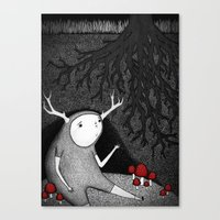 The Animal I am Canvas Print