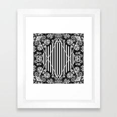 Cosmic Flora Framed Art Print