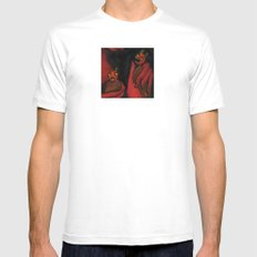 Relished Devils  Mens Fitted Tee White SMALL