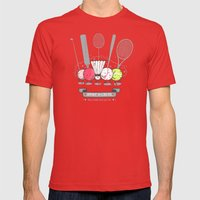 Sport Is Cruel Mens Fitted Tee Red SMALL