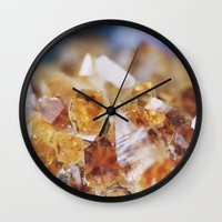 Citrine Light Wall Clock