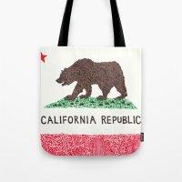 The California Republic Tote Bag