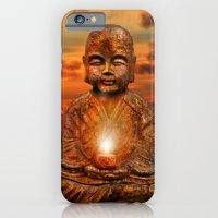 buddha iPhone & iPod Cases featuring Buddha by teddynash