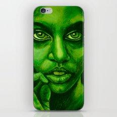 don't panic! green iPhone & iPod Skin