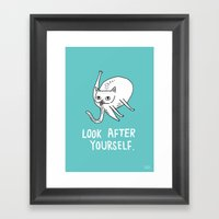Look After Yourself Framed Art Print