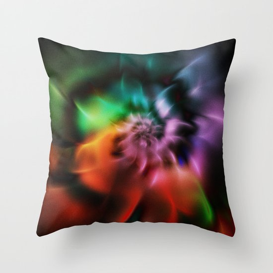Soft Petals 1 Throw Pillow
