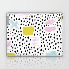 Pastel spots and dots Laptop & iPad Skin