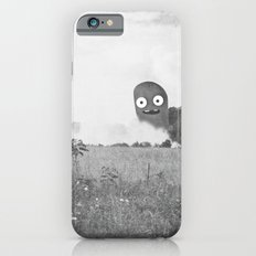 the passer-by saw only a wisp of smoke iPhone 6 Slim Case