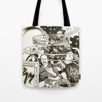 Music Jam Tote Bag