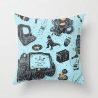 Artifacts: Fallout Throw Pillow