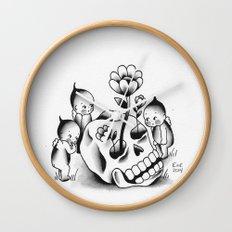 Curious Kewps Wall Clock