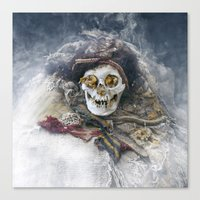 The Beauty of the Long-Dead Canvas Print