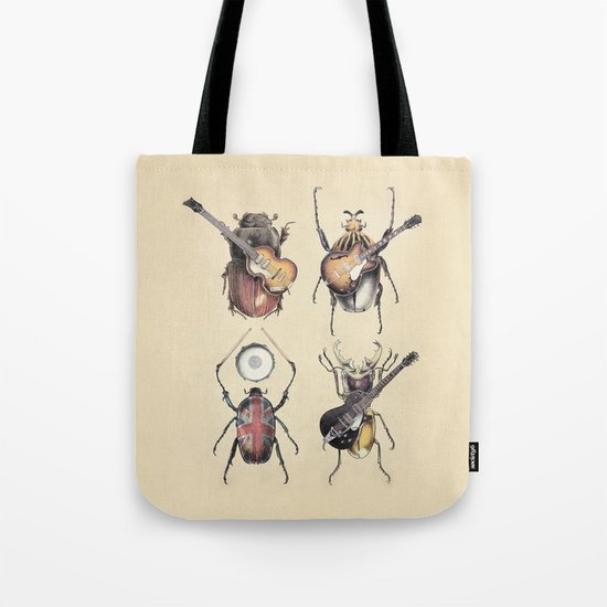 Meet the Beetles Tote Bag