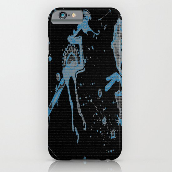 Blue Bird Lizard iPhone & iPod Case