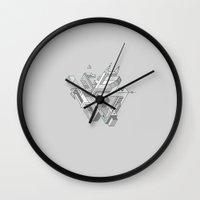 Penrose Manifold Wall Clock