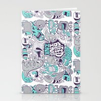 Bleeding Ink Stationery Cards
