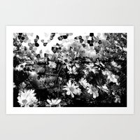Sunspots 2 Art Print