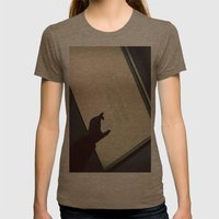 Headless1 Womens Fitted Tee Tri-Coffee SMALL