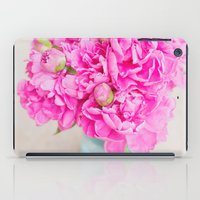 PINK PEONIES iPad Case