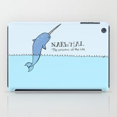 Narwhal (Unicorn of the Sea) iPad Case