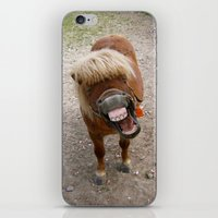 Why The Long Face? iPhone & iPod Skin