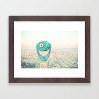 City Dreams Framed Art Print