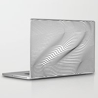 minimal Laptop & iPad Skins featuring Minimal Curves by Leandro Pita